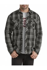 DICKIES Snap Flannel Sherpa Shirt Jacket TJ200
