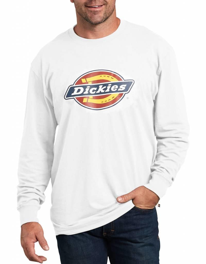 DICKIES Long Sleeve Relaxed Fit Graphic Tee (Big Logo) WL45A