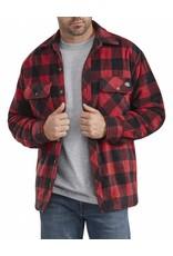 DICKIES Quilted Micro Fleece Shirt Jacket TJ202