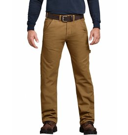 DICKIES Relaxed Fit Flannel-Lined Carpenter Pant DU217