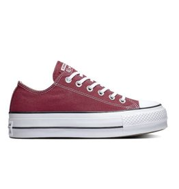 f048d583c423 CONVERSE CHUCK TAYLOR ALL STAR LIFT OX RHUBARB WHITE BLACK C13LR-563496C