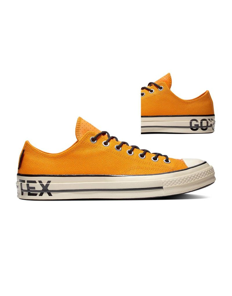 CONVERSE CHUCK TAYLOR 70 OX ORANGE RIND/BLACK/EGRET C970OR-163228C