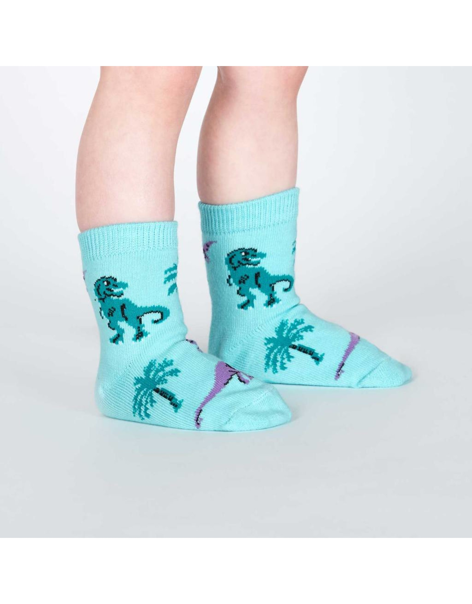 SOCK IT TO ME - Toddler Land of the Dinos Socks