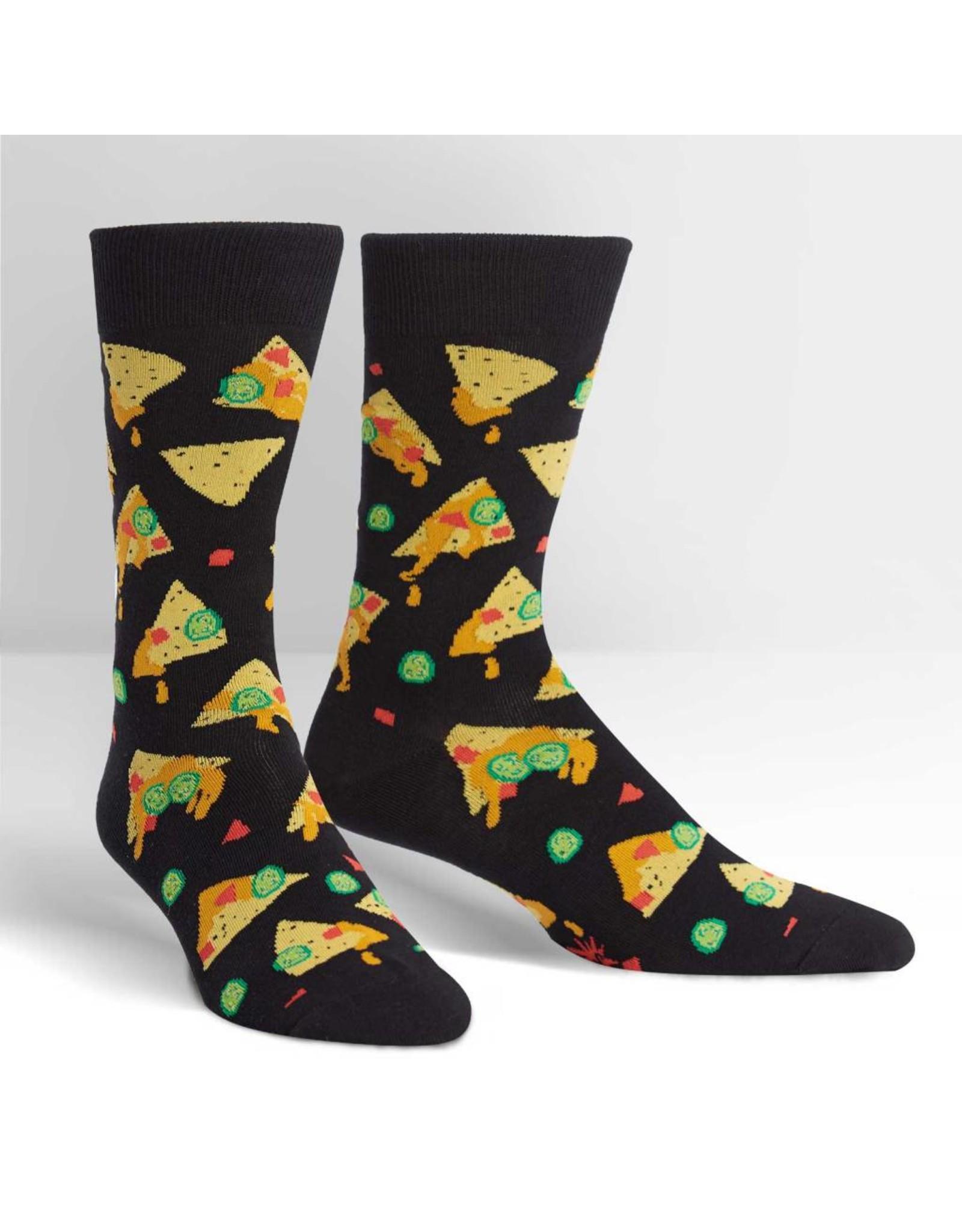 SOCK IT TO ME - Men's Nacho, Nacho Man Crew Socks