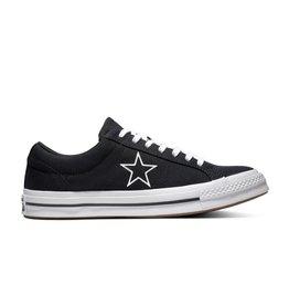 CONVERSE ONE STAR OX BLACK/WHITE/WHITE C987BW-163376C