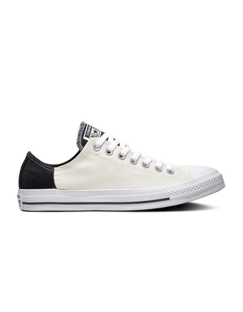CONVERSE CHUCK TAYLOR ALL STAR OX EGRET/BLACK/WHITE C13EB-163349C
