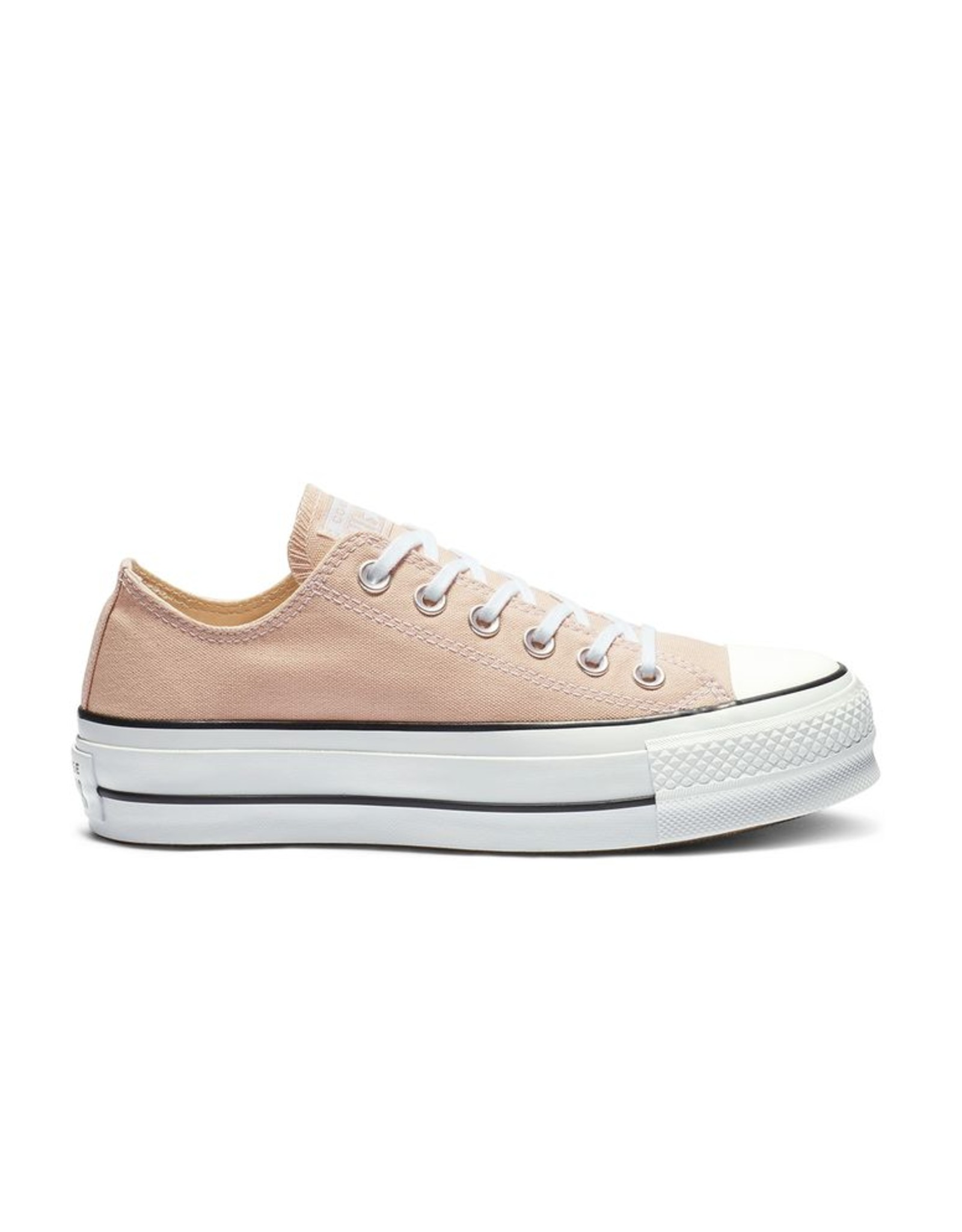 CONVERSE CHUCK TAYLOR ALL STAR LIFT OX PARTICLE BEIGE/WHITE/BLACK C13LP-563497C