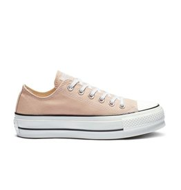 CONVERSE CHUCK TAYLOR ALL STAR LIFT OX PARTICLE BEIGE WHITE BLACK  C13LP-563497C aedf024d3