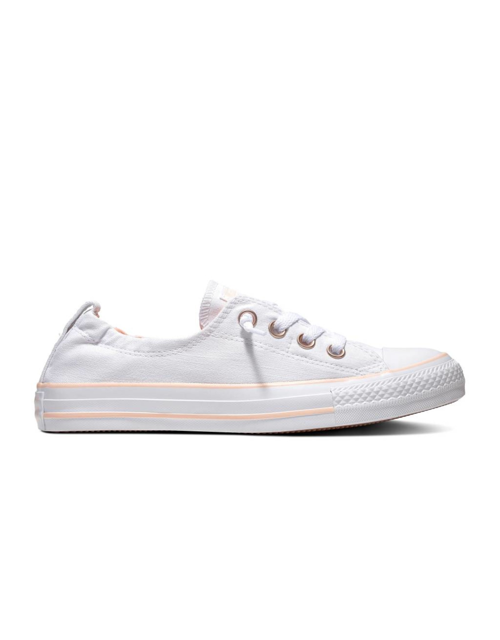 CONVERSE CHUCK TAYLOR ALL STAR SHORELINE SLIP WHITE/WASHED CORAL C13SSW-563454C
