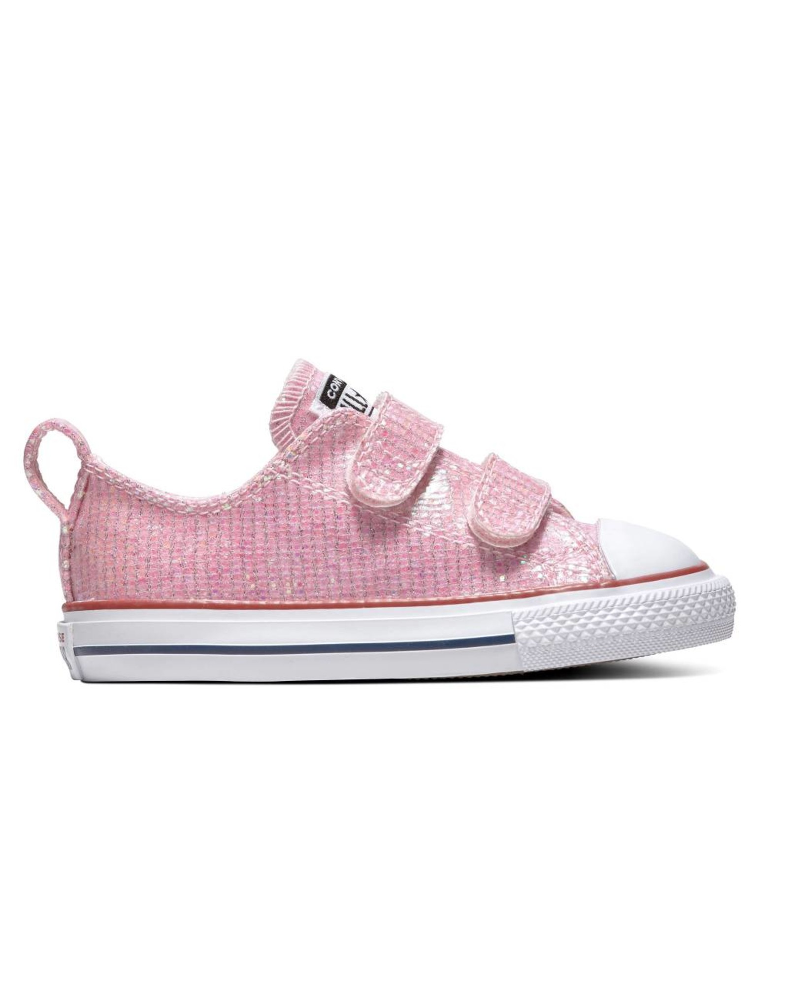 CONVERSE CHUCK TAYLOR ALL STAR 2V OX PINK FOAM/ENAMEL RED/WHITE CKVP-763550C