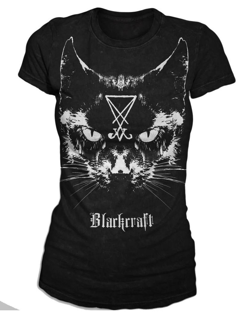 BLACKCRAFT CULT - Lucifer The Cat Tee