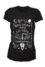 BLACKCRAFT CULT - Hail Satan Eat Pizza Tee