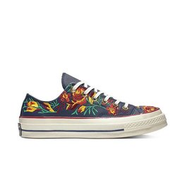 CONVERSE CHUCK TAYLOR 70 OX OBSIDIAN/CHERRY RED/EGRET C870FLO -561657C