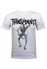 Transplants - Skeleton (White) T-Shirt