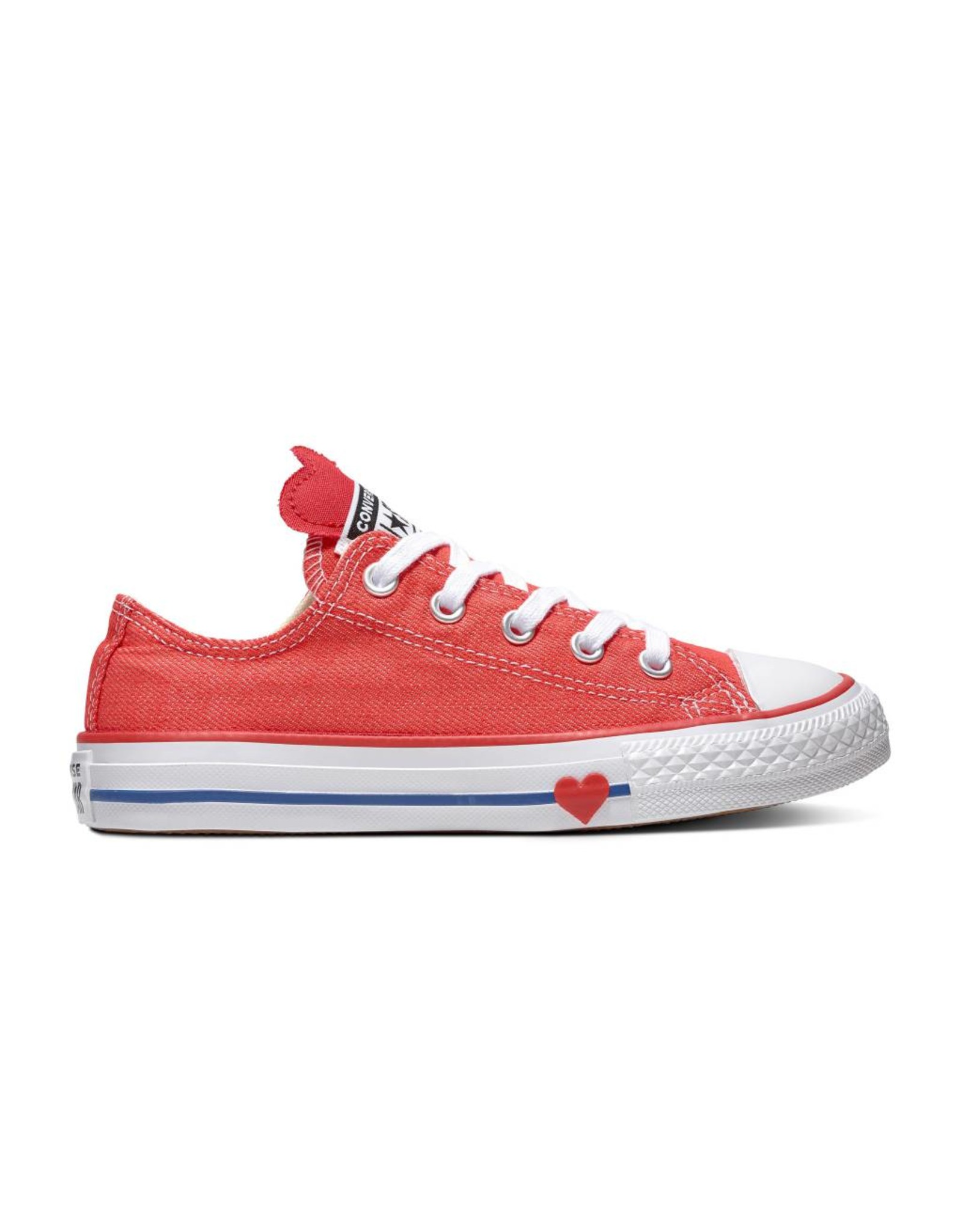 CONVERSE CHUCK TAYLOR ALL STAR OX SEDONA RED/ENAMEL RED/BLUE CZSER-363706C