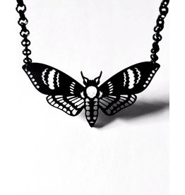CURIOLOGY - Death's Head Moth Necklace