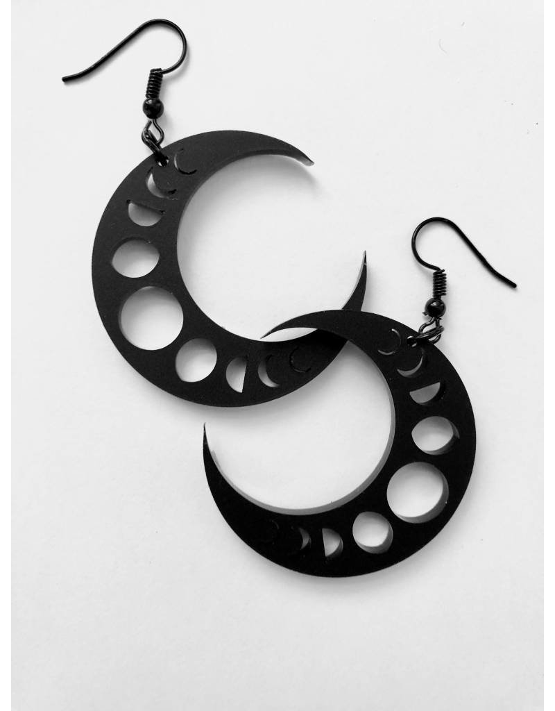 CURIOLOGY - Crescent Earrings