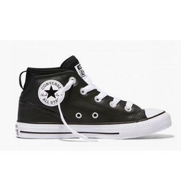 CONVERSE CHUCK TAYLOR SYDE STREET MID BLACK/BLACK/WHITE CCW96B-657537C
