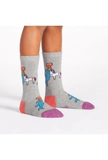 SOCK IT TO ME - Youth Great Horns Think Alike Crew Socks
