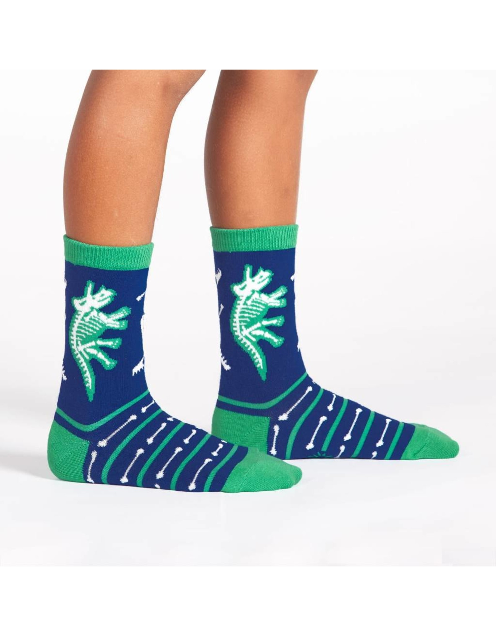 SOCK IT TO ME - Youth Arch-eology Crew Socks