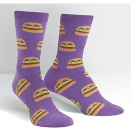 SOCK IT TO ME - Women's Cute Burgers Crew Socks