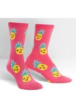 SOCK IT TO ME - Women's Sassy Pineapples Crew Socks