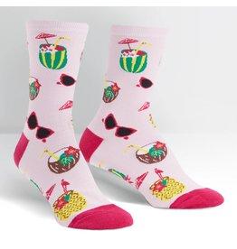 SOCK IT TO ME - Women's Rum Away with Me Crew Socks
