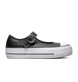 521027575e196e CONVERSE CHUCK TAYLOR ALL STAR MARY JANE OX BLACK BLACK WHITE C13MJB-563501C