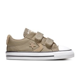 CONVERSE STAR PLAYER 2V OX KHAKI/KHAKI/WHITE CK86VK-763581C