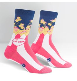SOCK IT TO ME - Women's Uni-corn Crew Socks