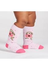 SOCK IT TO ME - Toddler Snackin' Sloth Knee Socks