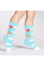 SOCK IT TO ME - Toddler Pup, Pup and away Knee Socks