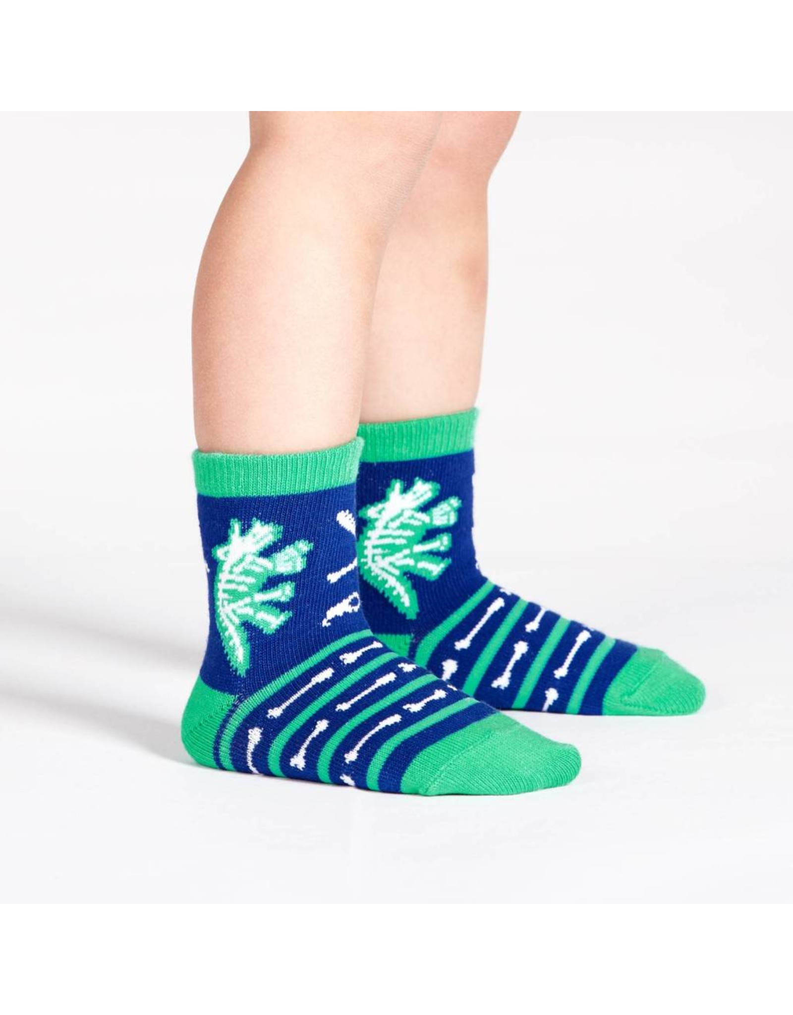 SOCK IT TO ME - Toddler Arch-eology Crew Socks