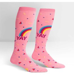SOCK IT TO ME - Stretch-It Knee High Reigning Confetti Socks