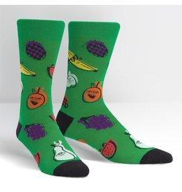 SOCK IT TO ME - Men's One Eyed Fruit Crew Socks