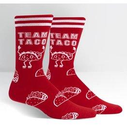 SOCK IT TO ME Men's Team Taco Crew Socks