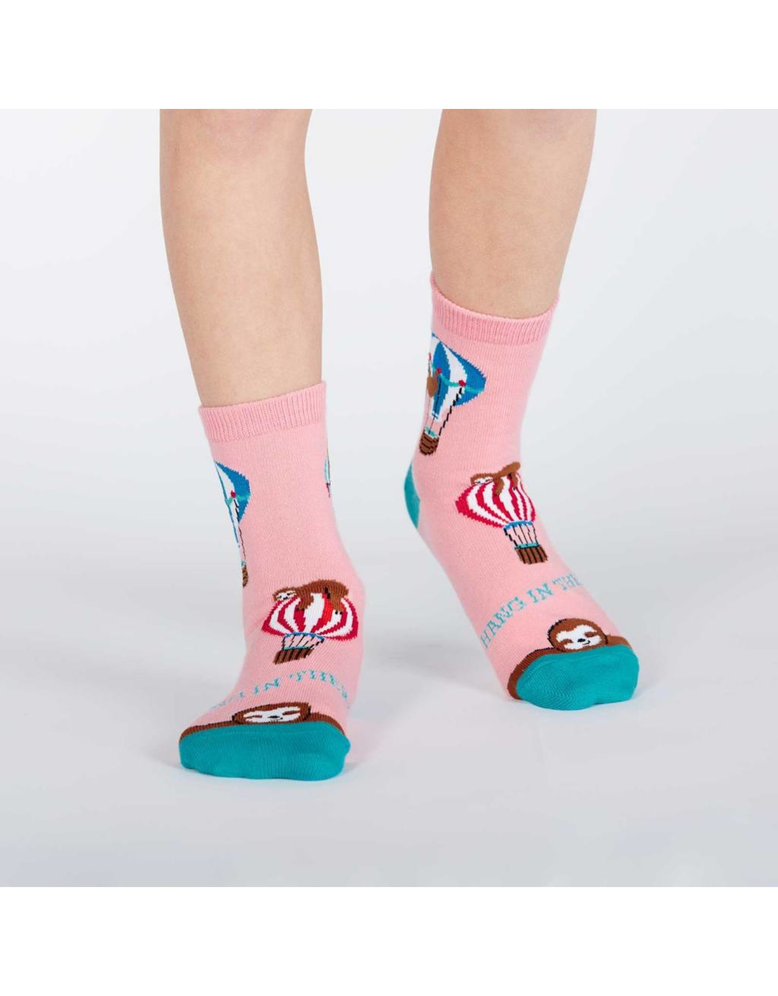 SOCK IT TO ME - Junior Hang In There Crew Socks