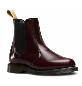 DR. MARTENS VEGAN FLORA CHERRY RED CAMBRIDGE BRUSH E14CAM-R24178600