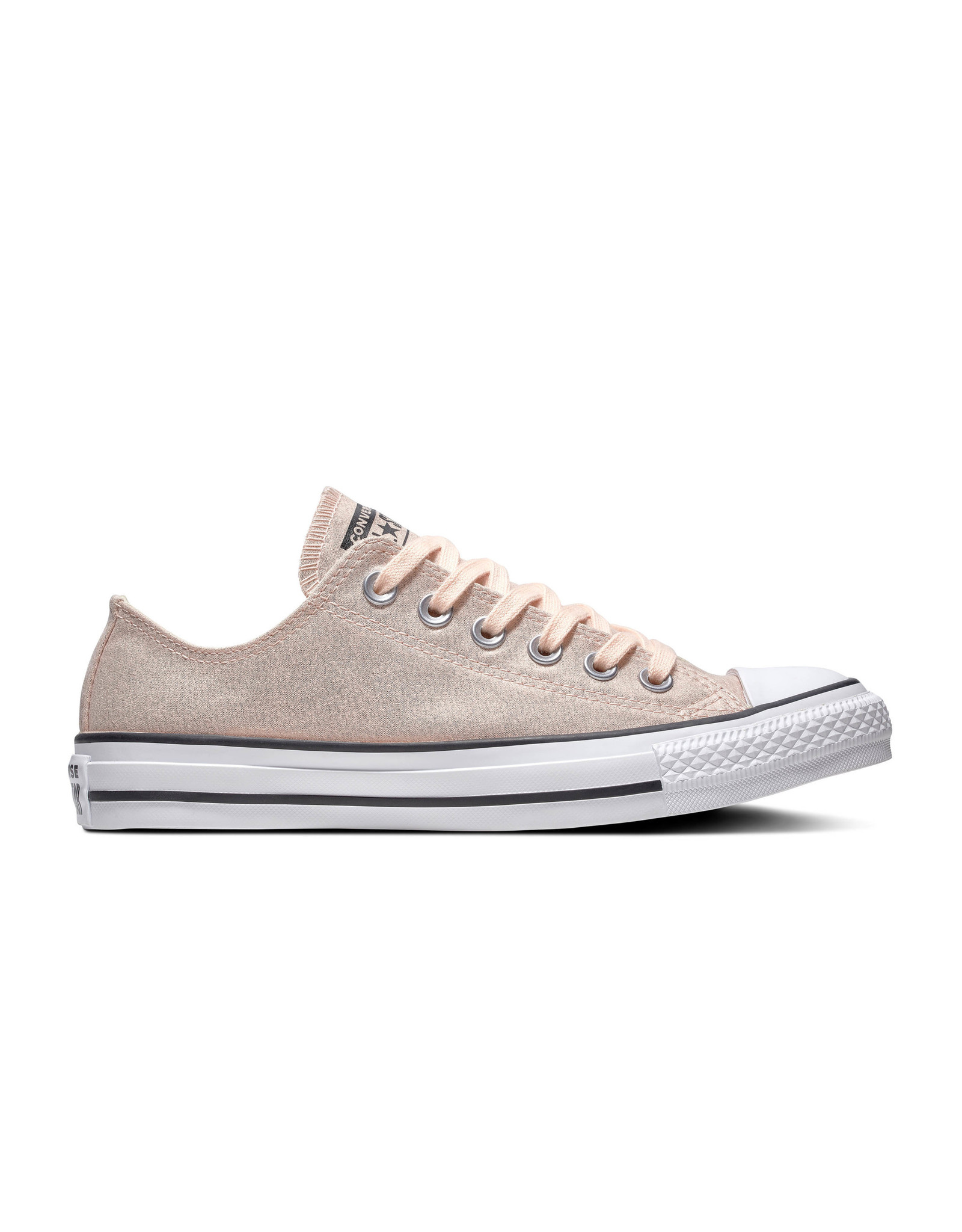 CONVERSE CHUCK TAYLOR ALL STAR OX WASHED CORAL/BLACK/WHITE C13WAS-563412C