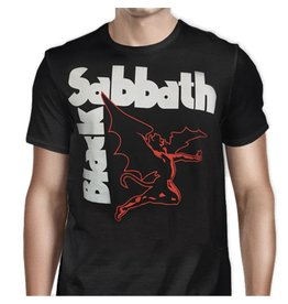 Black Sabbath Red Angel T-Shirt
