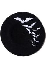 KREEPSVILLE 666 - Bat Repeat Beret Hat