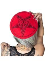 KREEPSVILLE 666 - Goat Head Beret Hat