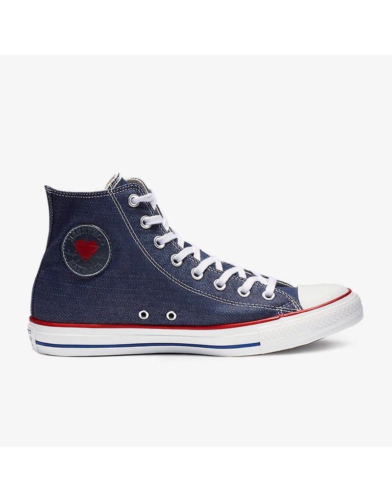 CONVERSE CHUCK TAYLOR ALL STAR HI INDIGO/ENAMEL RED/BLUE C19BIN-163303C