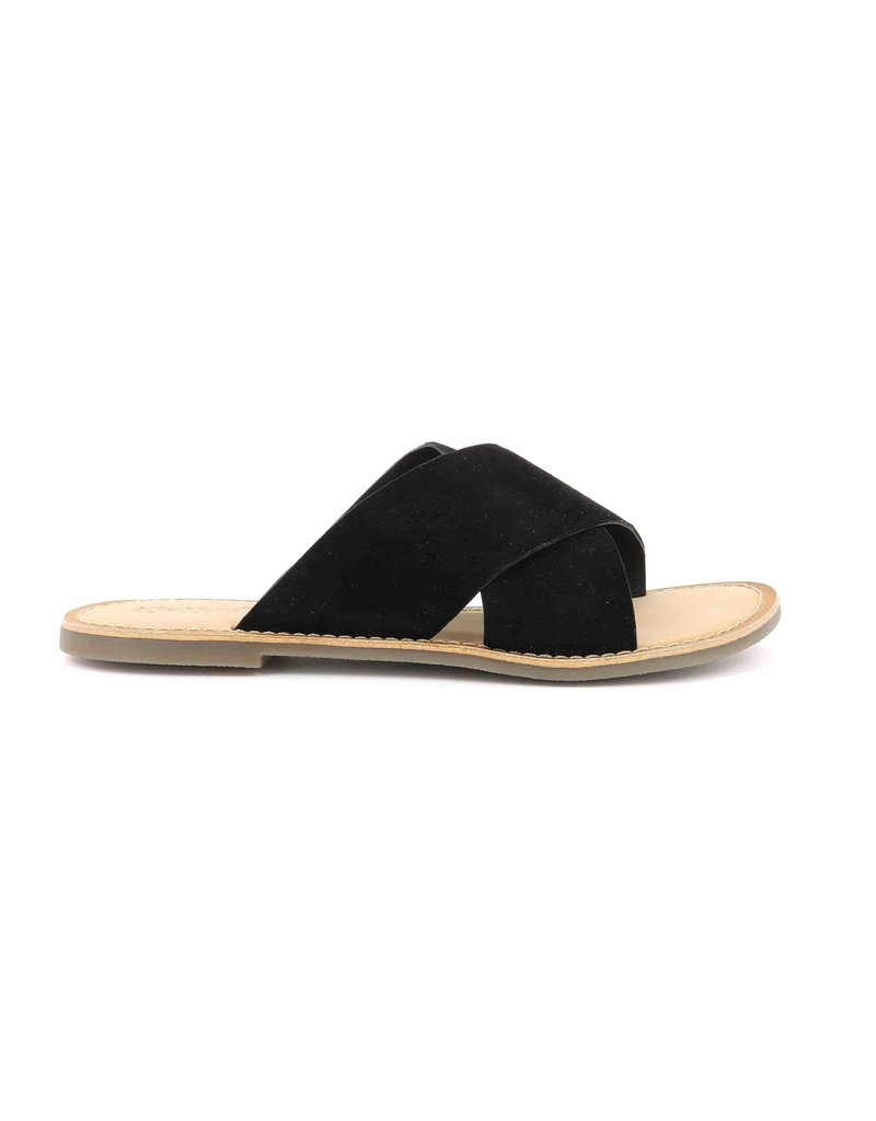 KICKERS DIAZ NOIR K1901B SANDALS 19E700310-50+8