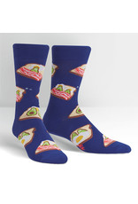 SOCK IT TO ME - Men's Breakfast in Bed Crew Socks