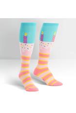 SOCK IT TO ME - Women's It's My Birthday Knee High Funky Socks