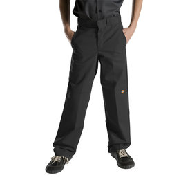 DICKIES Boys' FlexWaist Relaxed Fit Straight Leg Double Knee Pants QP200