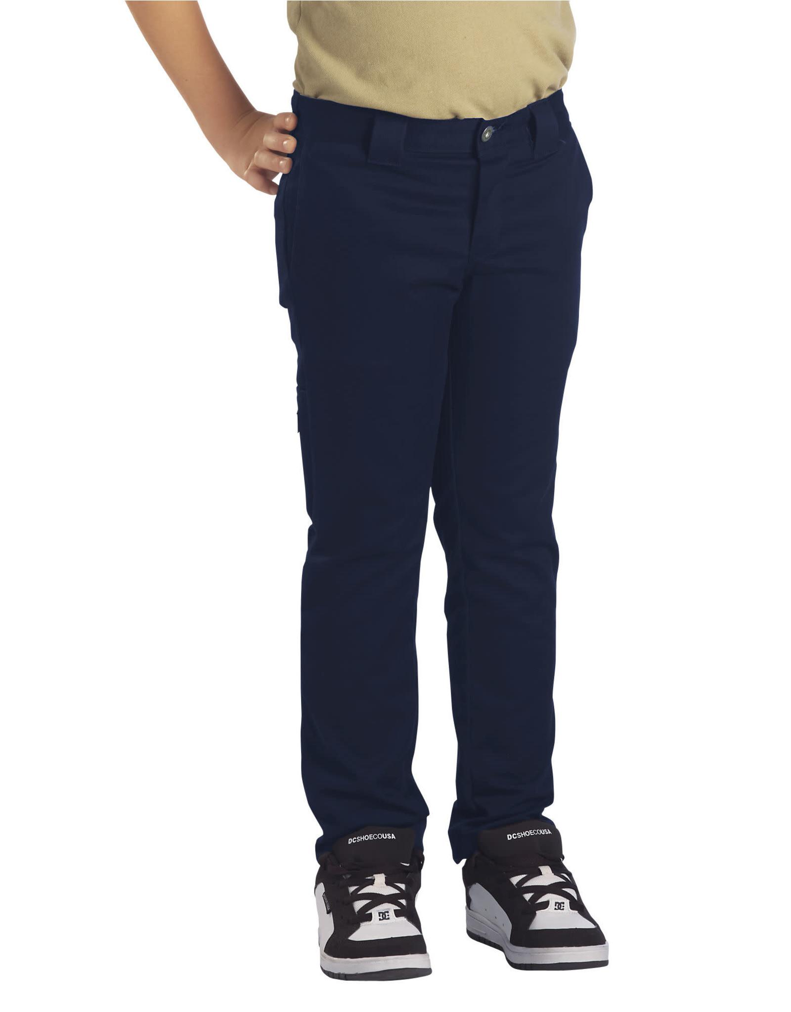DICKIES Boys' Flex Skinny Fit Straight Leg Pants QP801