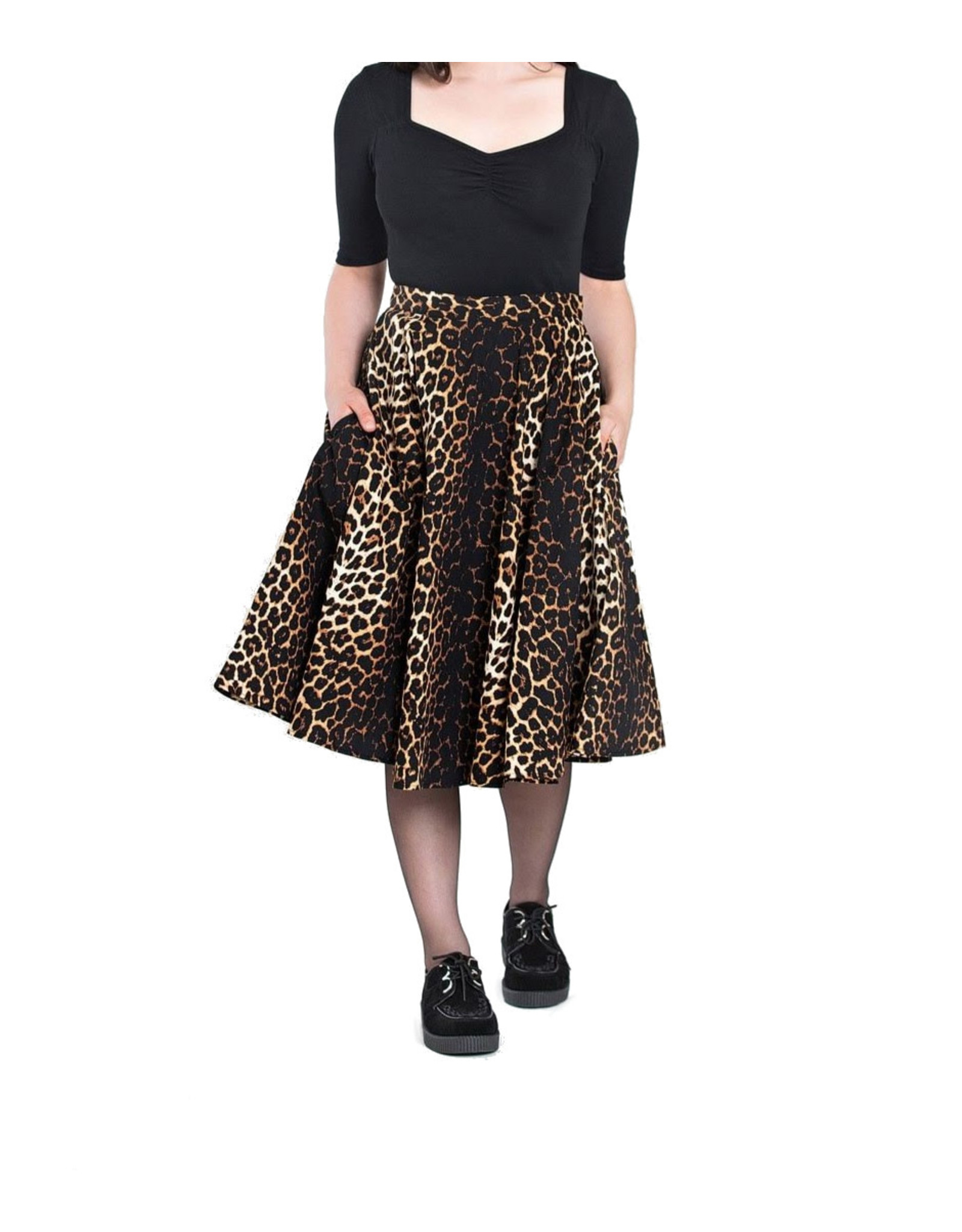 HELL BUNNY - Panthera 50's Skirt