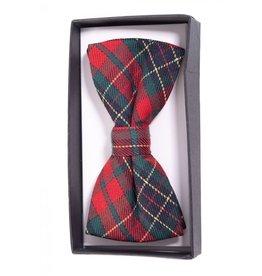 BANNED - Ribbon Dance Red Tartan Bow Tie